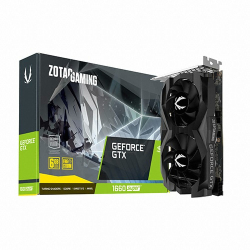 ZOTAC GAMING 지포스 GTX 1660 SUPER D6 6GB TWIN