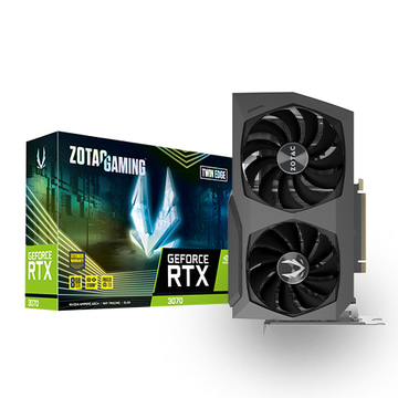 ZOTAC 지포스 RTX3070 TWIN EDGE 8GB GDDR6 256bit