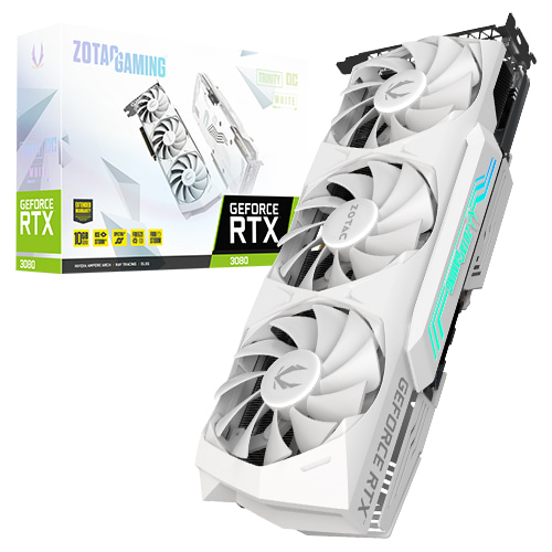 ZOTAC GEFORCE RTX 3080 Trinity O.C White 10GB GDDR6X