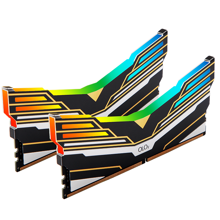 [OLOy] DDR4 32GB (16GB*2) CL16 3200MHz (PC4-25600) OLOy WarHawk Black RGB SYNC