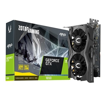 ZOTAC 지포스 GTX 1650 AMP CORE D6 4GB